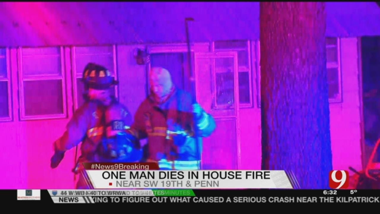 One Dead After SW OKC House Fire