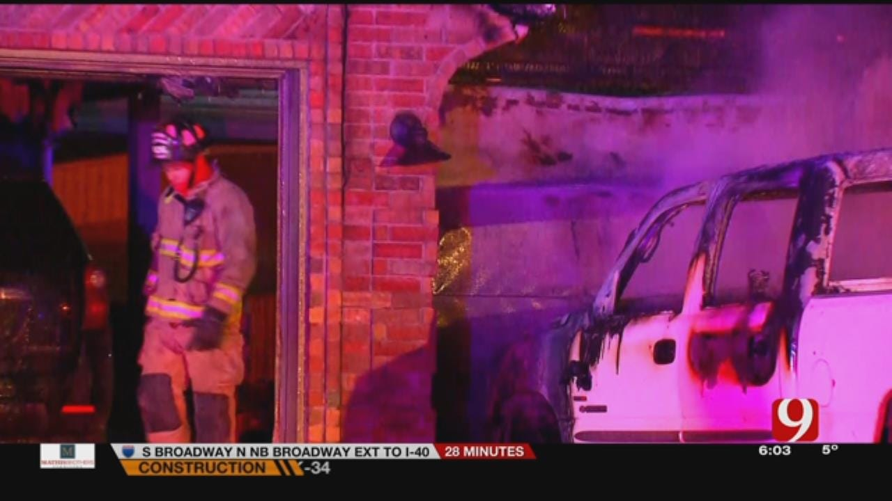 Family Displaced After House Fire Near Yukon