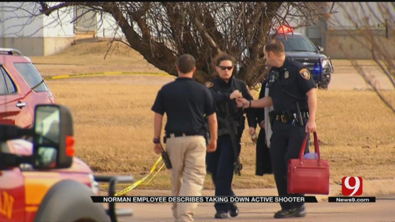 Man Takes Down Shooter