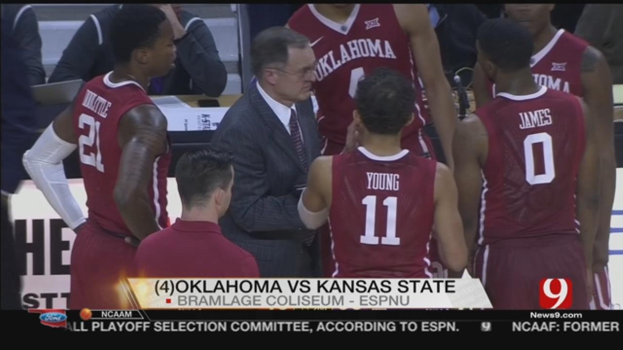 Brown, Wade Star As Kansas State Routs No. 4 Oklahoma 87-69
