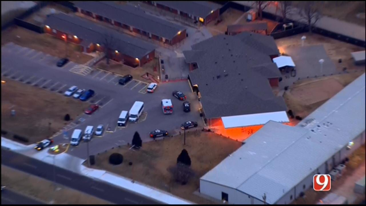 WEB EXTRA: SkyNews 9 Flies Over Reported Shooting Scene Near Downtown