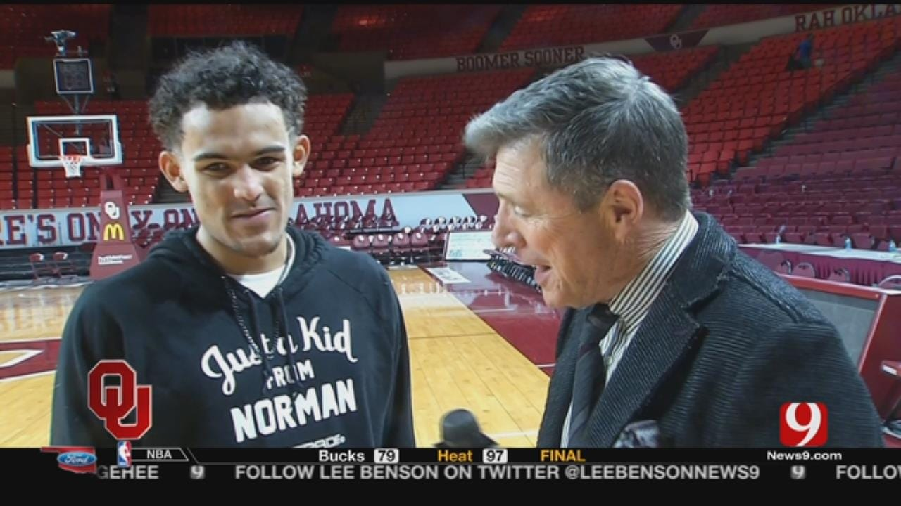 Dean Goes 1- on- 1 With Trae Young