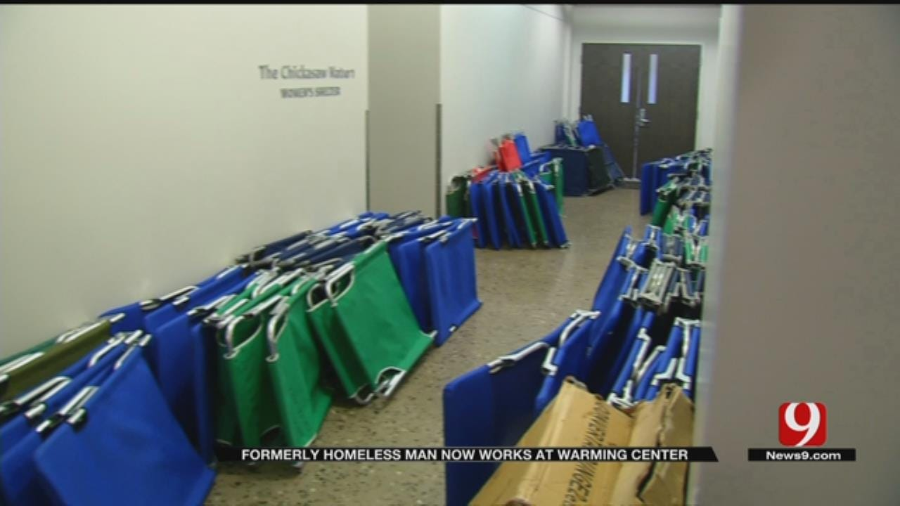 Emergency Shelter In OKC Opens To Keep The Homeless Warm