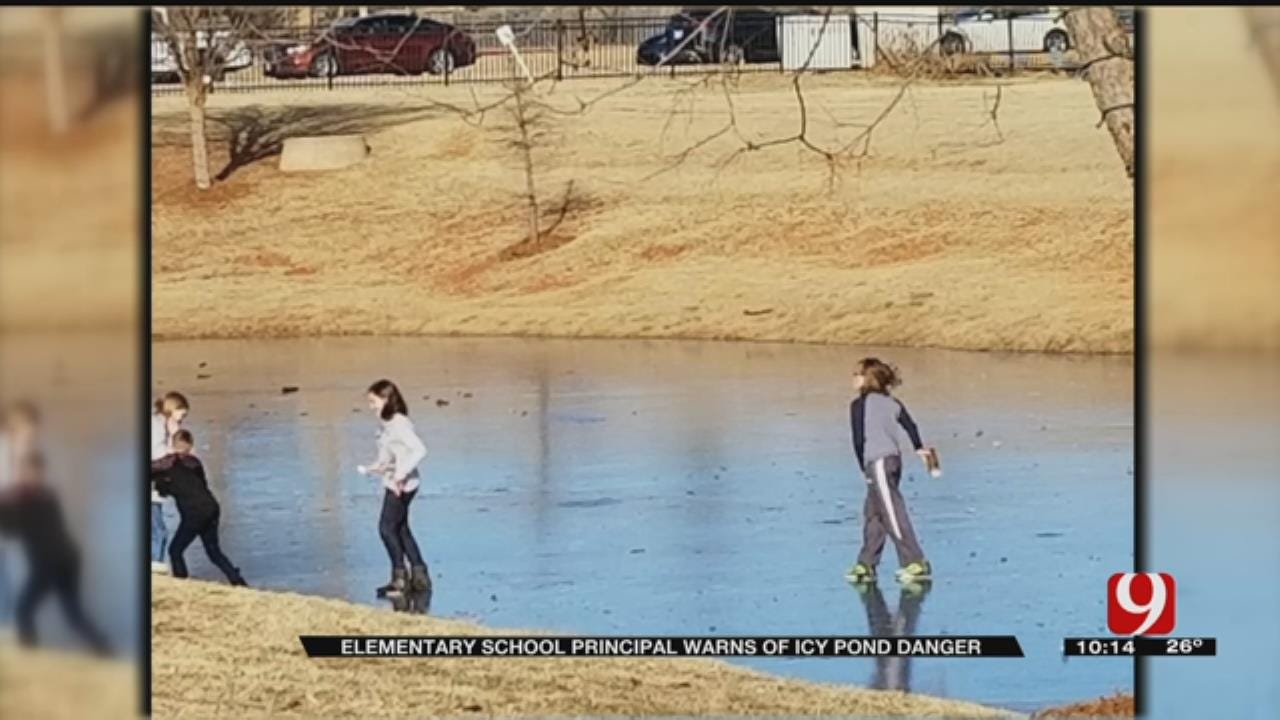 Bodies Of Water Not Safe To Walk Or Play On In Recent Temps