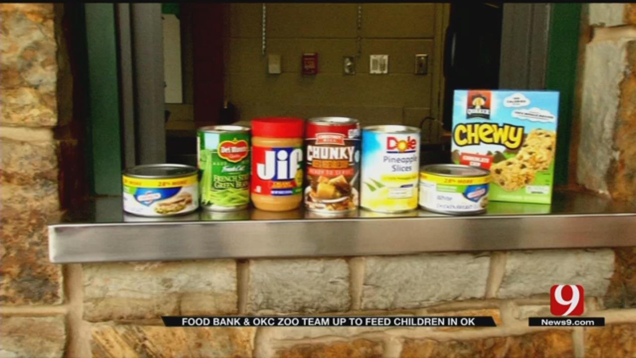 Oklahoma City Zoo, News 9 Team Up For Food For Kids