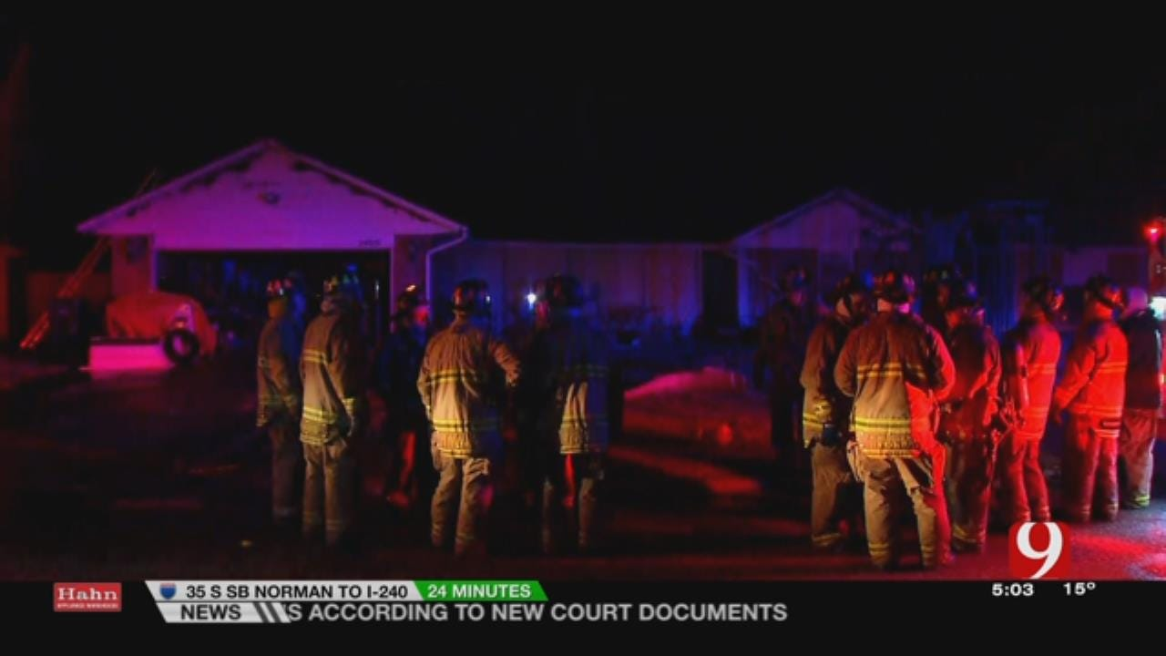 Firefighters Respond To Edmond House Fire