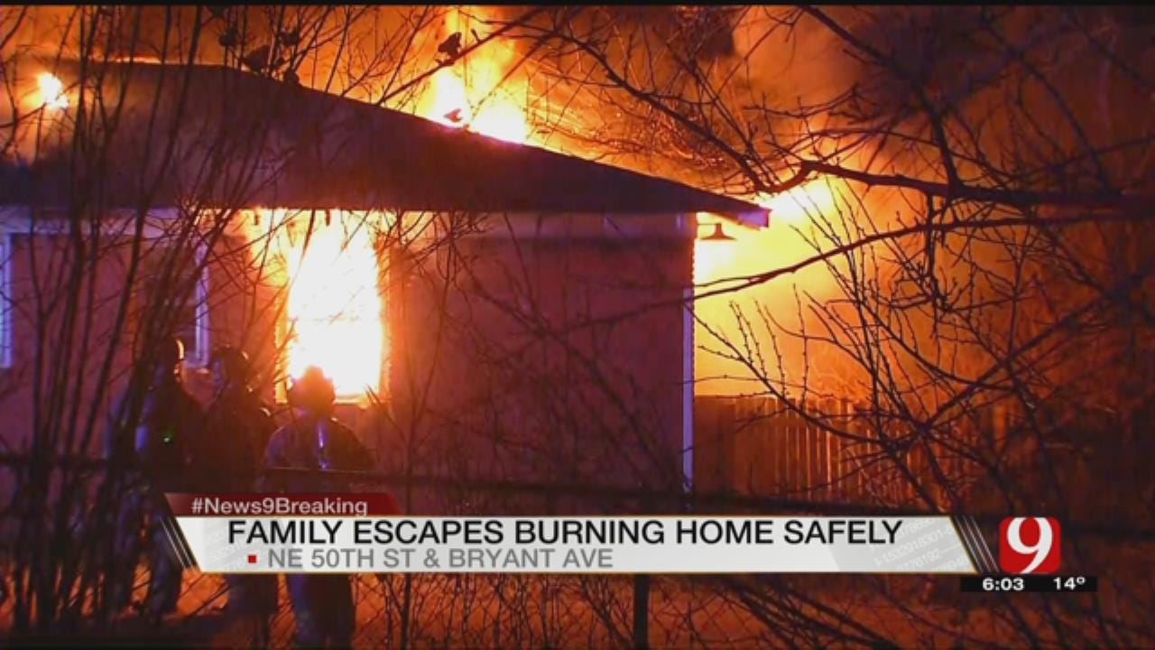 Multiple Fire Crews Battle House Fire In Forest Park
