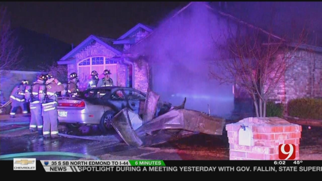 Firefighters Respond To House Fire In NW OKC