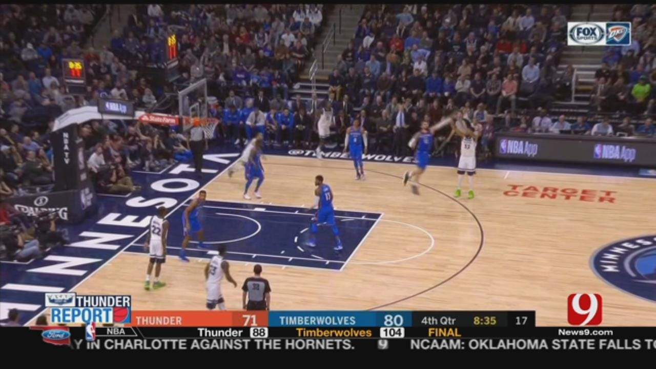 Butler Scores 26 To Lead Timberwolves Past Thunder 104-88