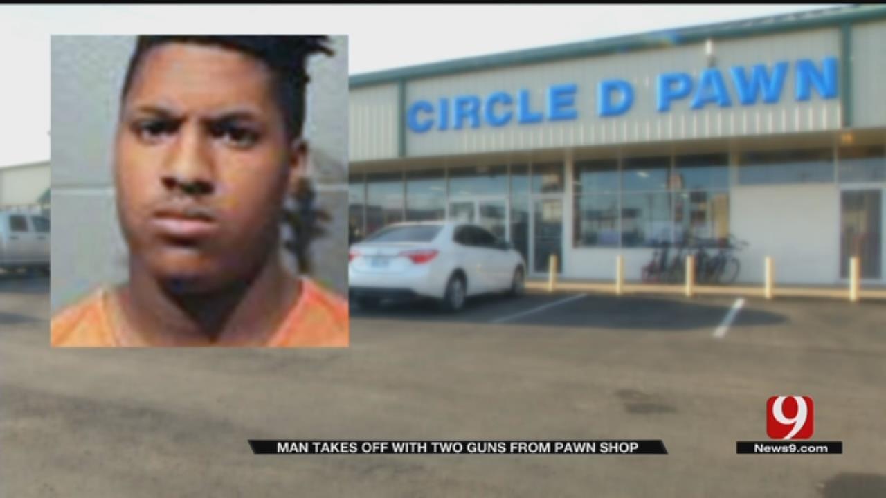 Gun Theft From Metro Pawn Shop