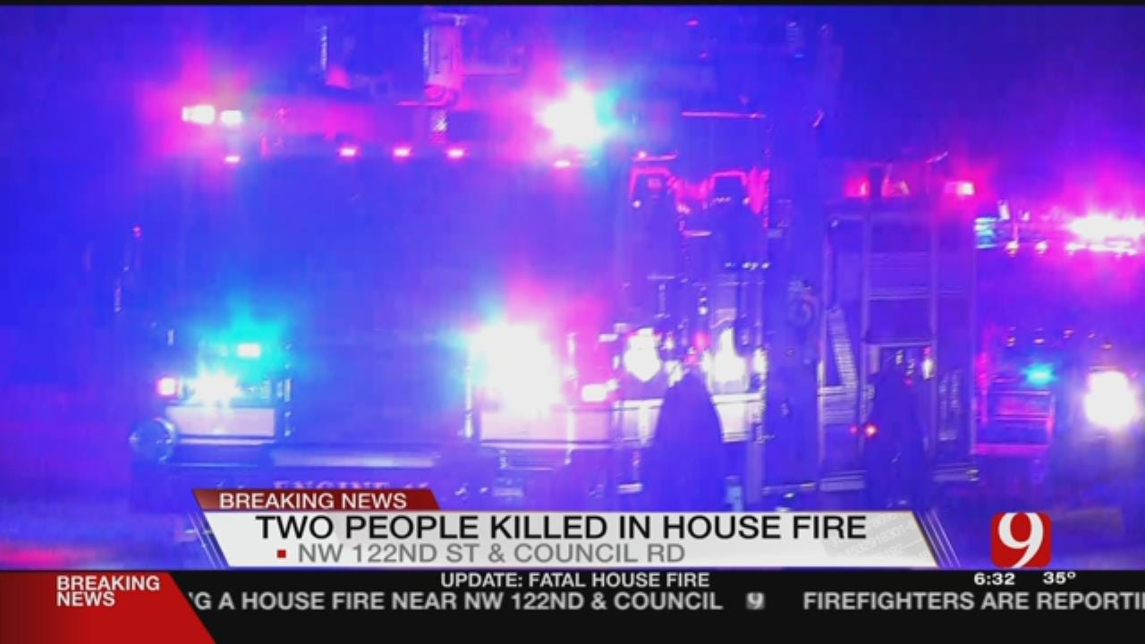 2 People Dead After NW OKC House Fire