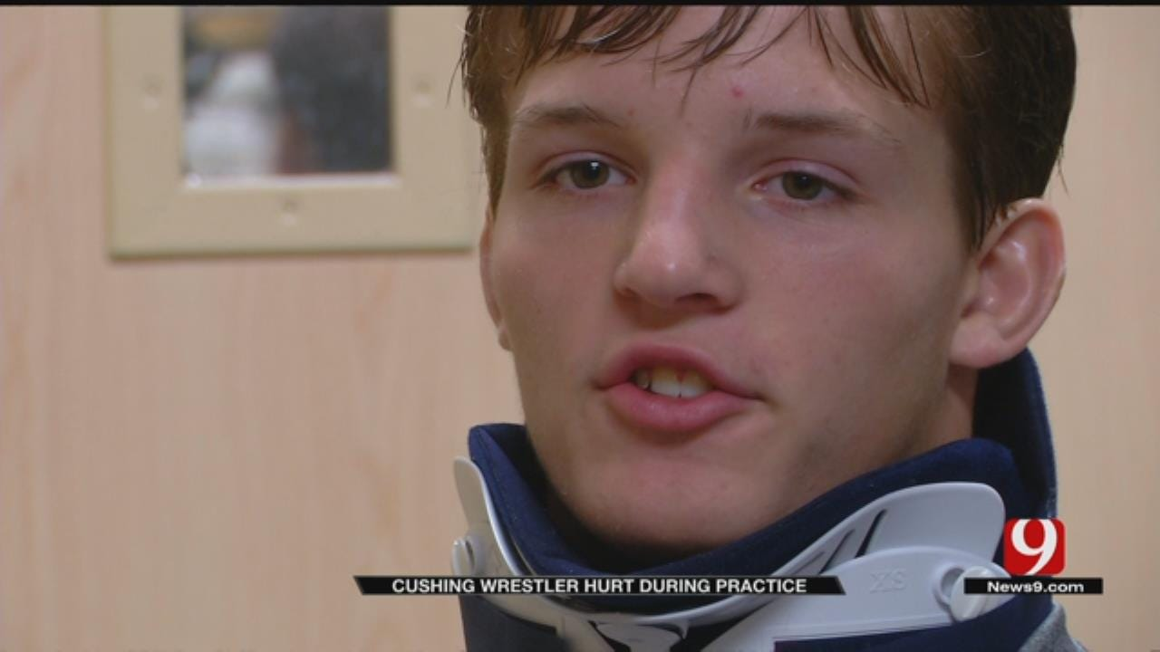 Cushing Wrestler Severly Injured, On The Road To Recovery
