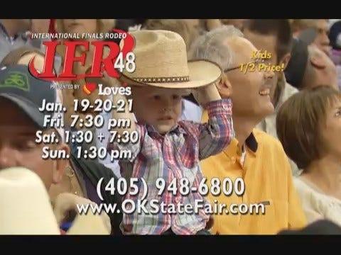 Internationl Finals Rodeo: IFR 48 Cash TV-B 15 (cut 2) Preroll - 01/18