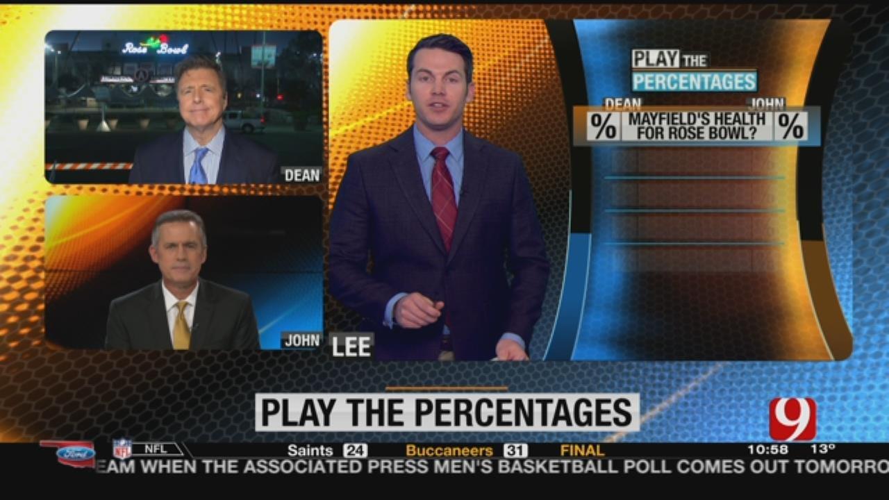 Play The Percentages: Dec. 31