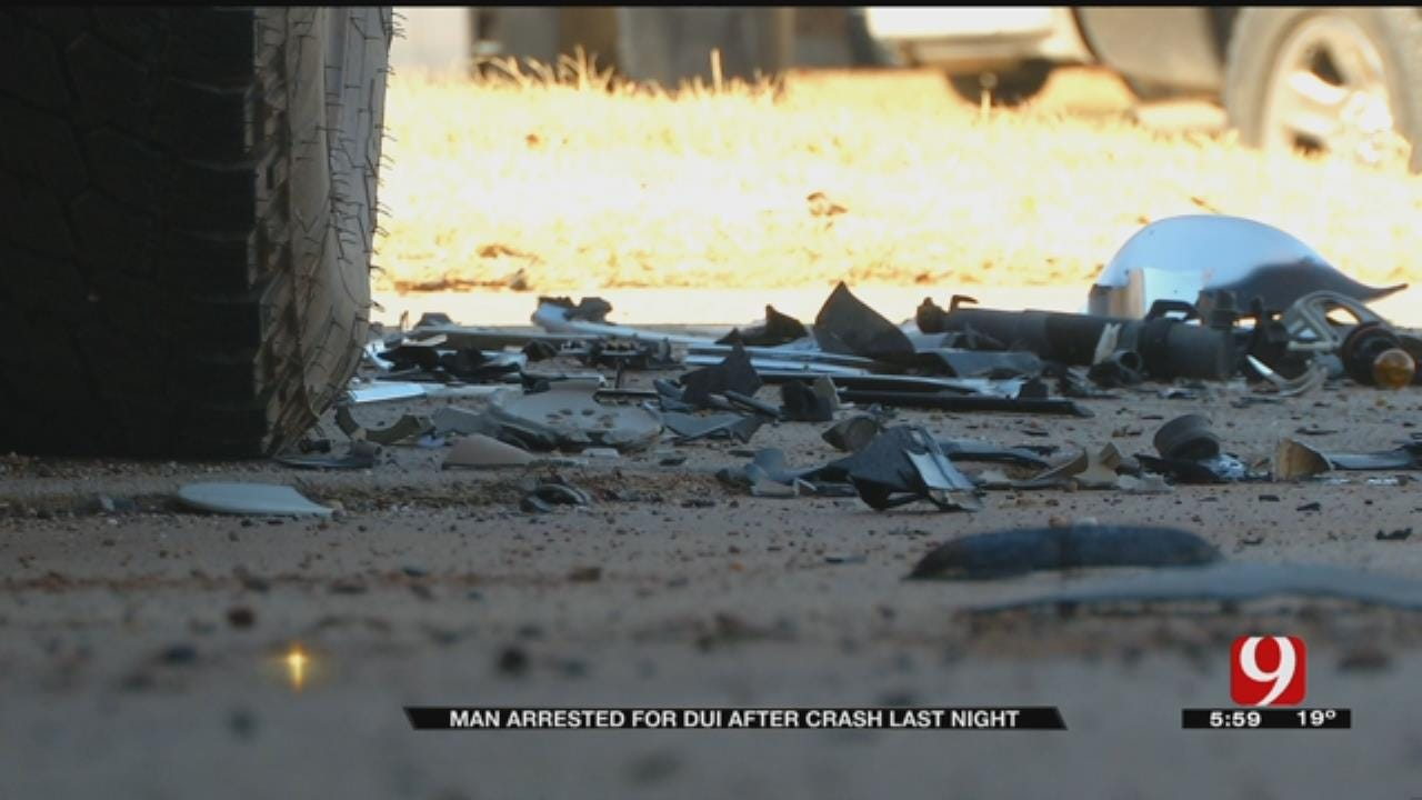 Drunk Driver Plows Through Driveway; Almost Hits Moore Family