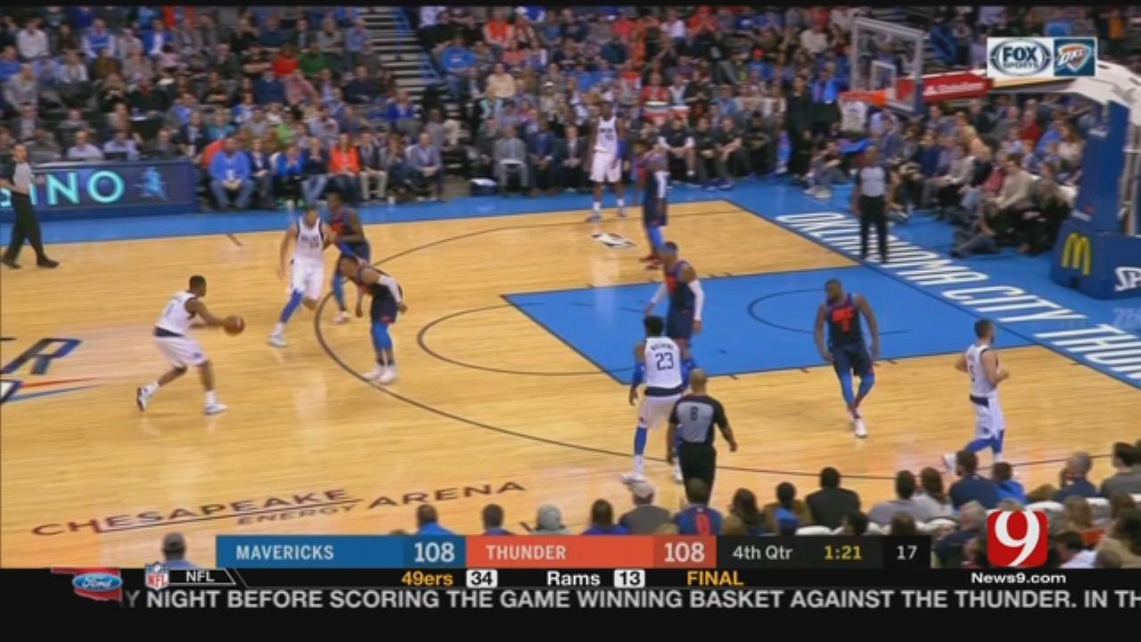 Thunder Vs. Mavericks Game Highlights