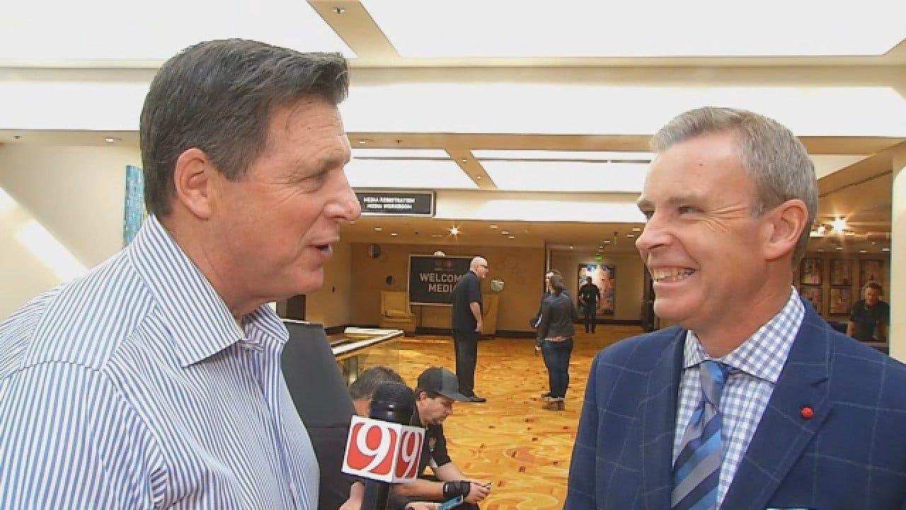 Dean 1-On-1 With ESPN Reporter Tom Rinaldi