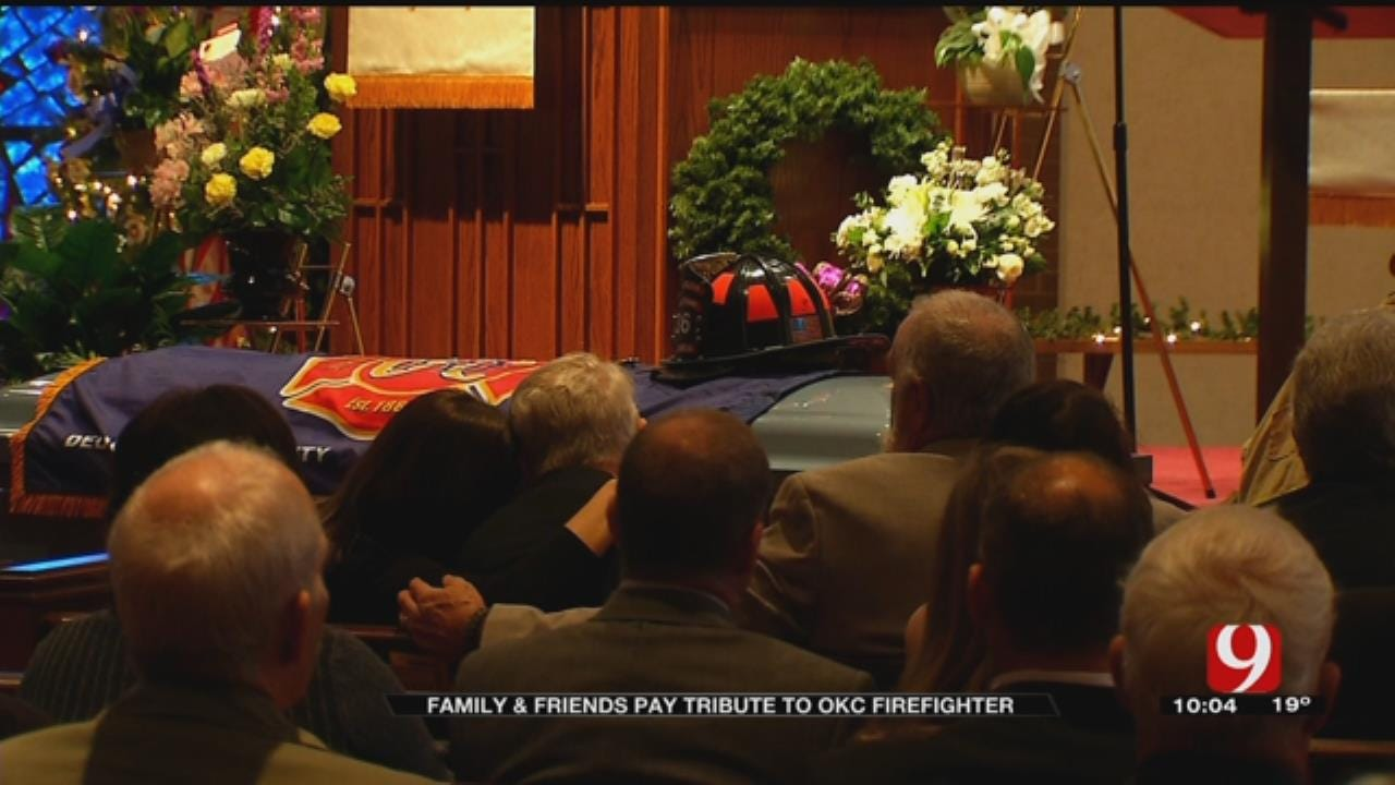 OKCFD says final goodbye to colleague