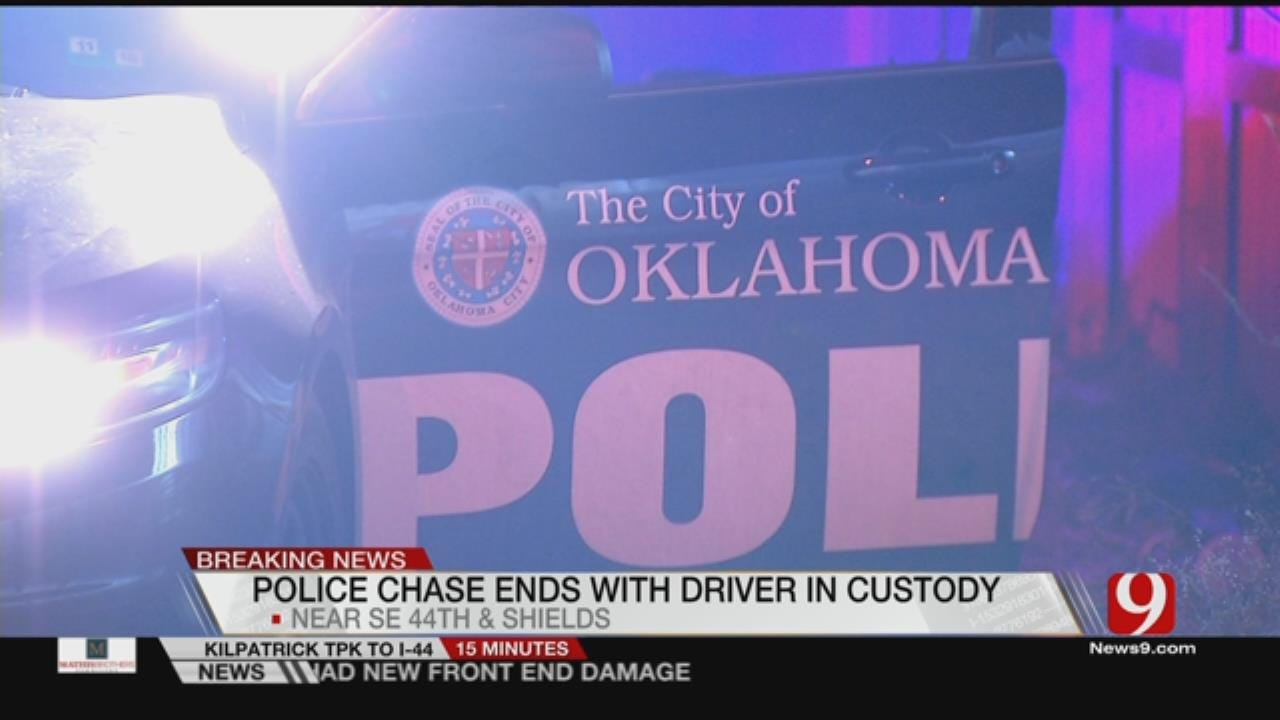 Women Arrested After Police Chase In SE OKC