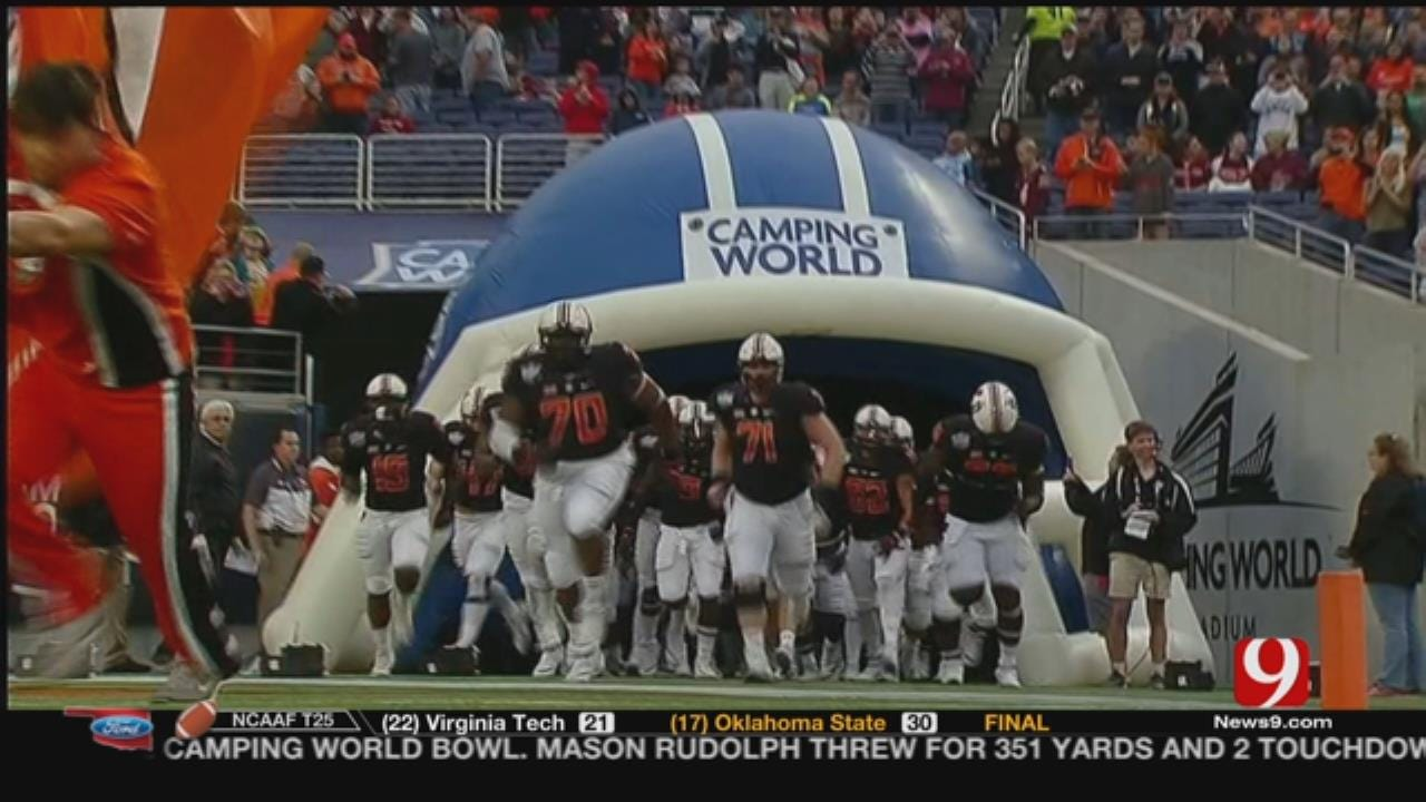Cowboys Take Down Hokies, Win Camping World Bowl