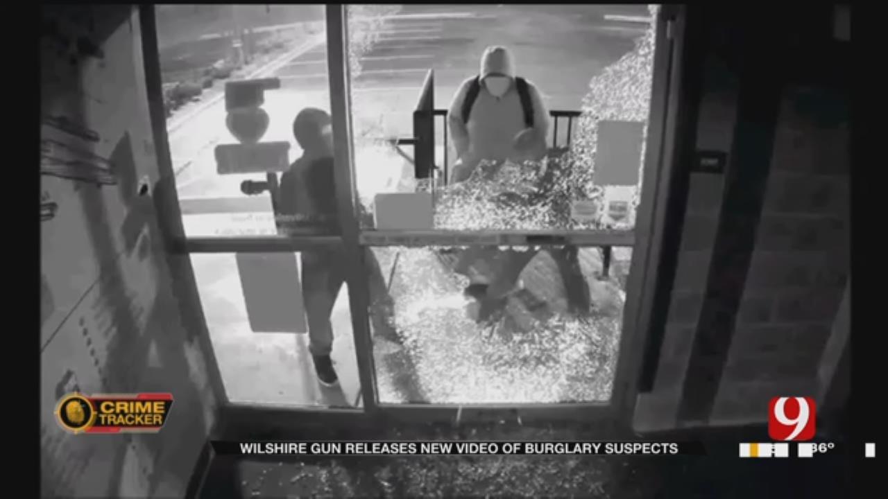OKC Police Release New Video Of Wilshire Gun Burglary Suspects