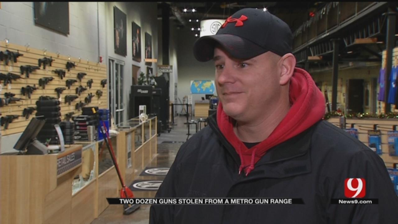 Weapons Stolen From OKC-Area Gun Range