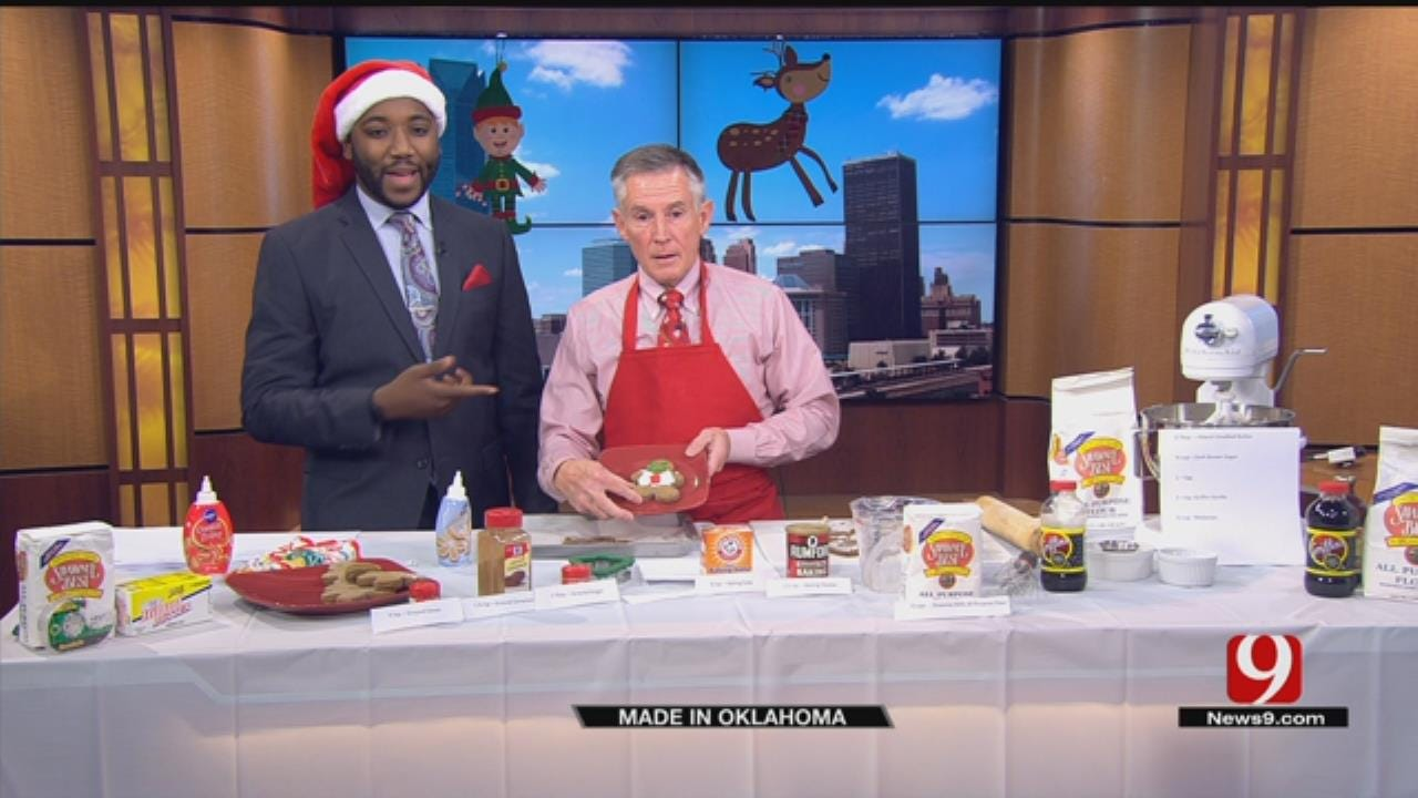 Made In Oklahoma: Gingerbread Cookie Recipe