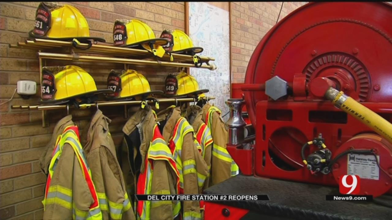Del City FD Reopens Second Station With Help Of New Firefighters