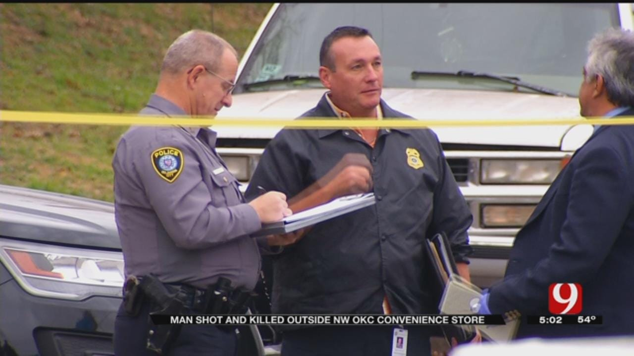 Man Shot, Killed Outside NW OKC Convenience Store