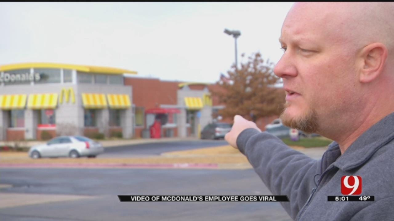 Yukon Dad Says McDonald's Worker Threatened Him