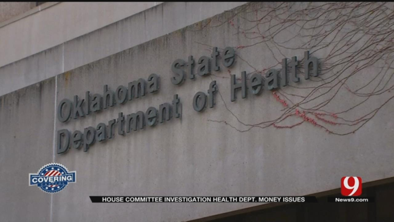 State Auditor Testifies About Health Department Misspending