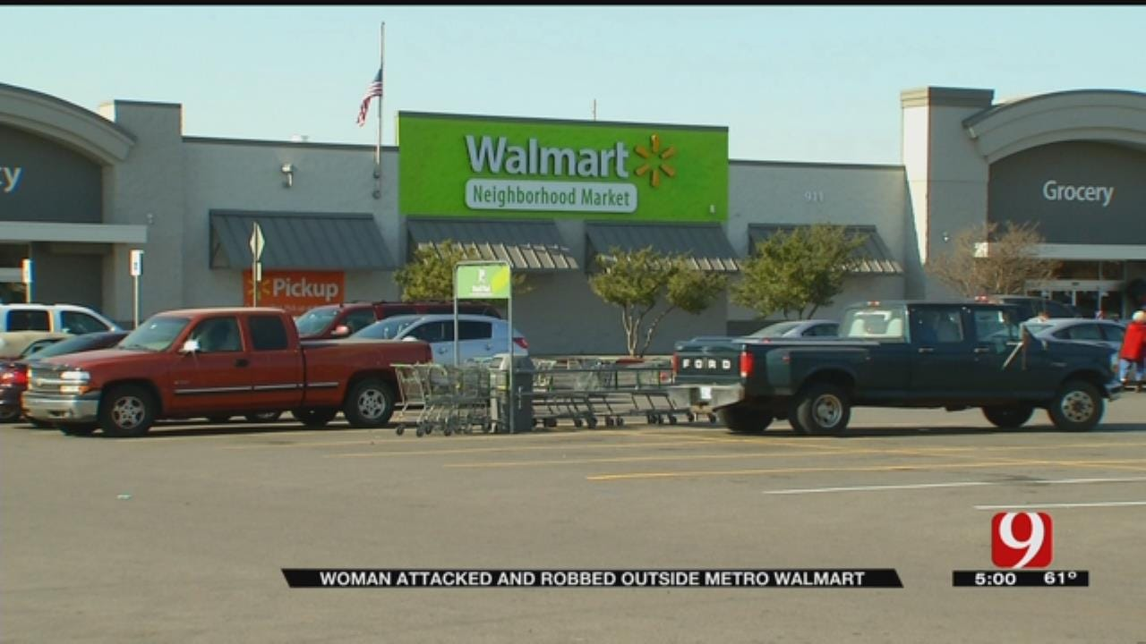 Elderly Woman Robbed, Assaulted In Metro Grocery Store Parking Lot