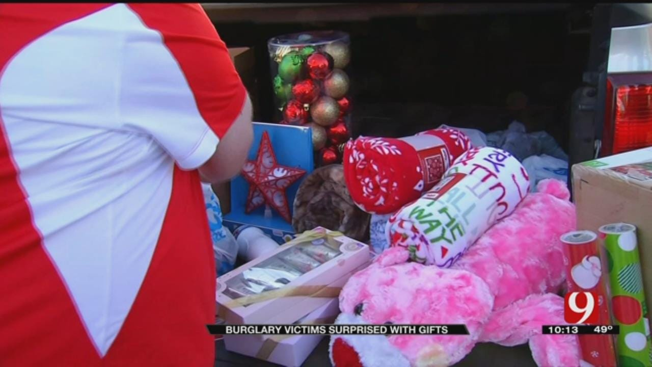 Warr Acres Family Gets Christmas Surprise Following Devastating Burglary
