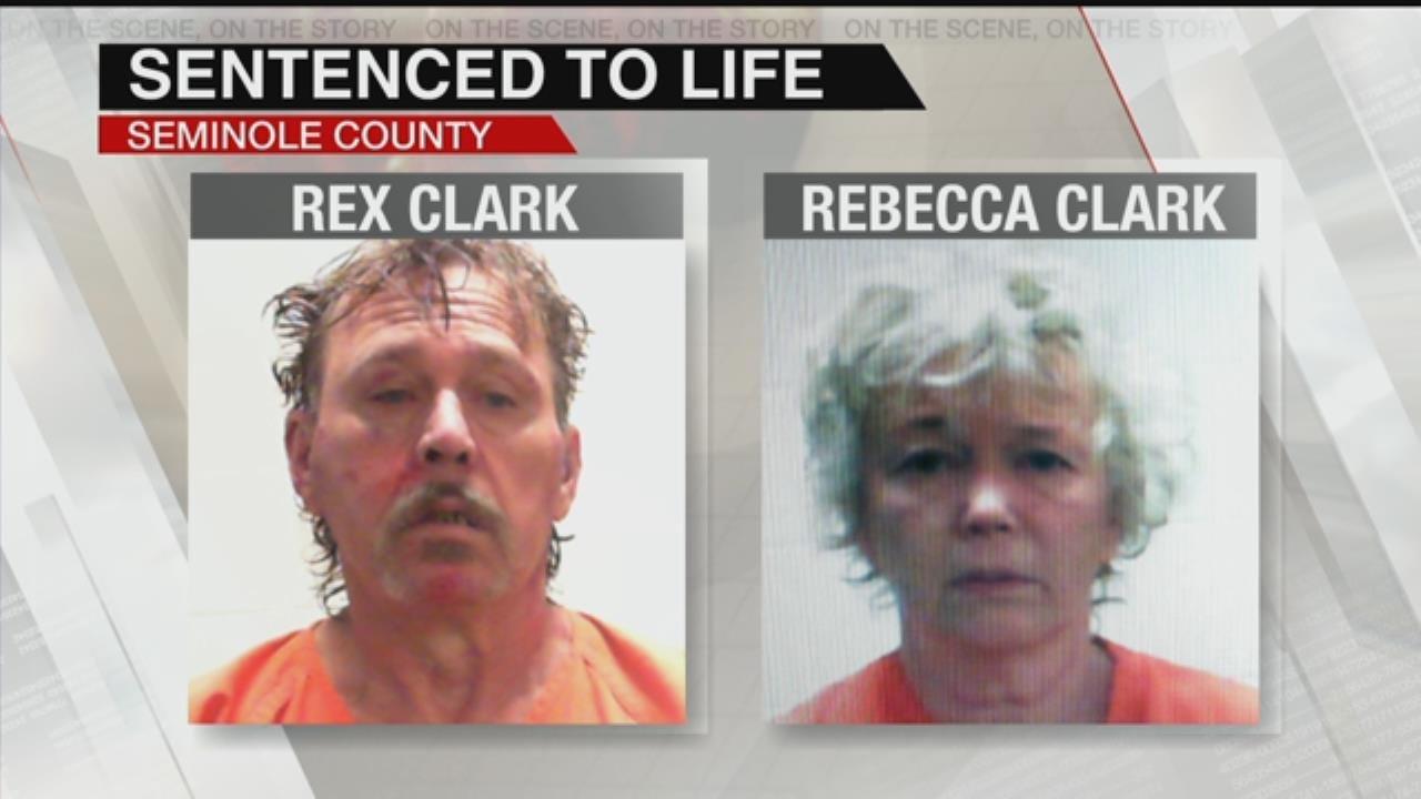 Judge Sentences Rex And Rebecca Clark To Life Without Parole