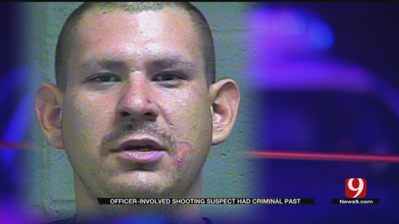 Suspect In Deadly OKC Officer-Involved Shooting Has Criminal Past