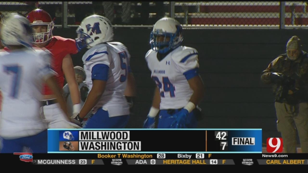Washington 7 vs. Millwood 42