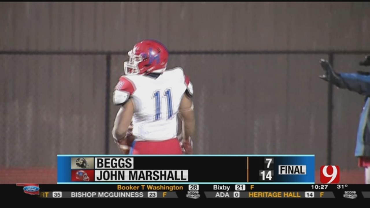 Beggs 7 vs. John Marshall 14