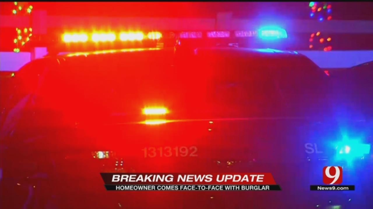 Homeowner Scares Off Hatch-Wielding Burglar In NW OKC