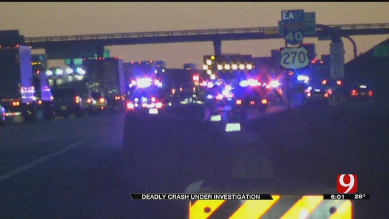 Unusual Obstruction Kills One Driver On I-40 Near Yukon