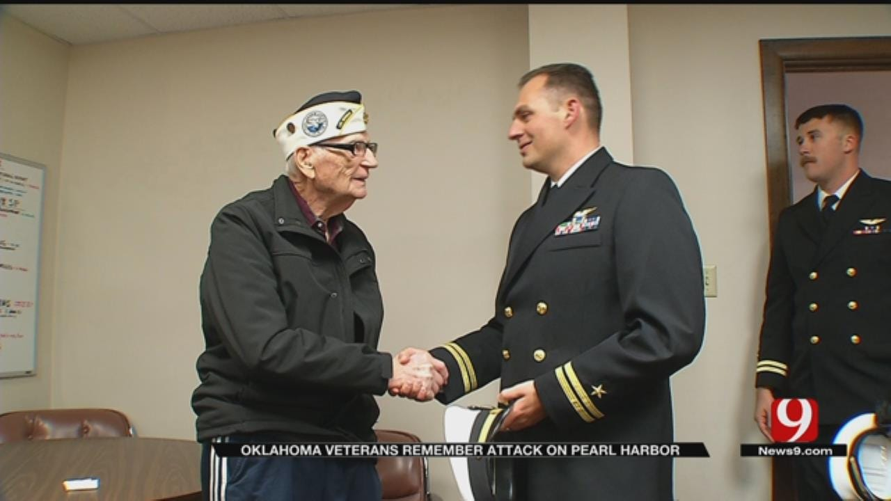 Pearl Harbor Survivor Shares Story To Inspire Oklahomans