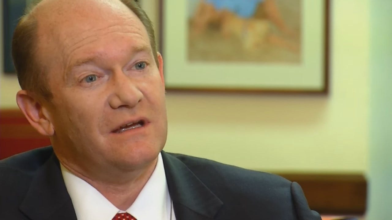 WEB EXTRA: Sen. Coons Praises Lankford's Willingness To Listen, Compromise