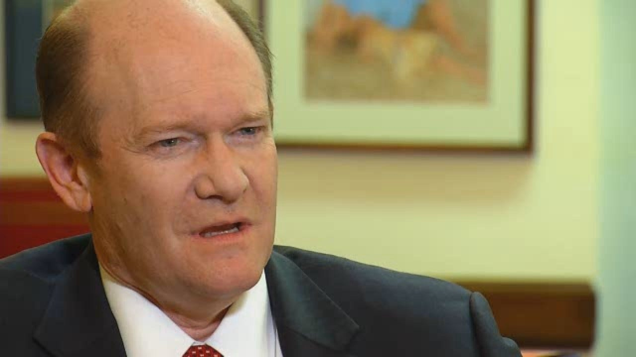 WEB EXTRA: Sens. Coons, Lankford Forge Positive Bipartisan Relationship