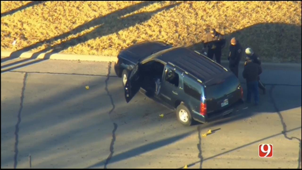 WEB EXTRA: SkyNews 9 Flies Over Officer-Involved Shooting In Clinton