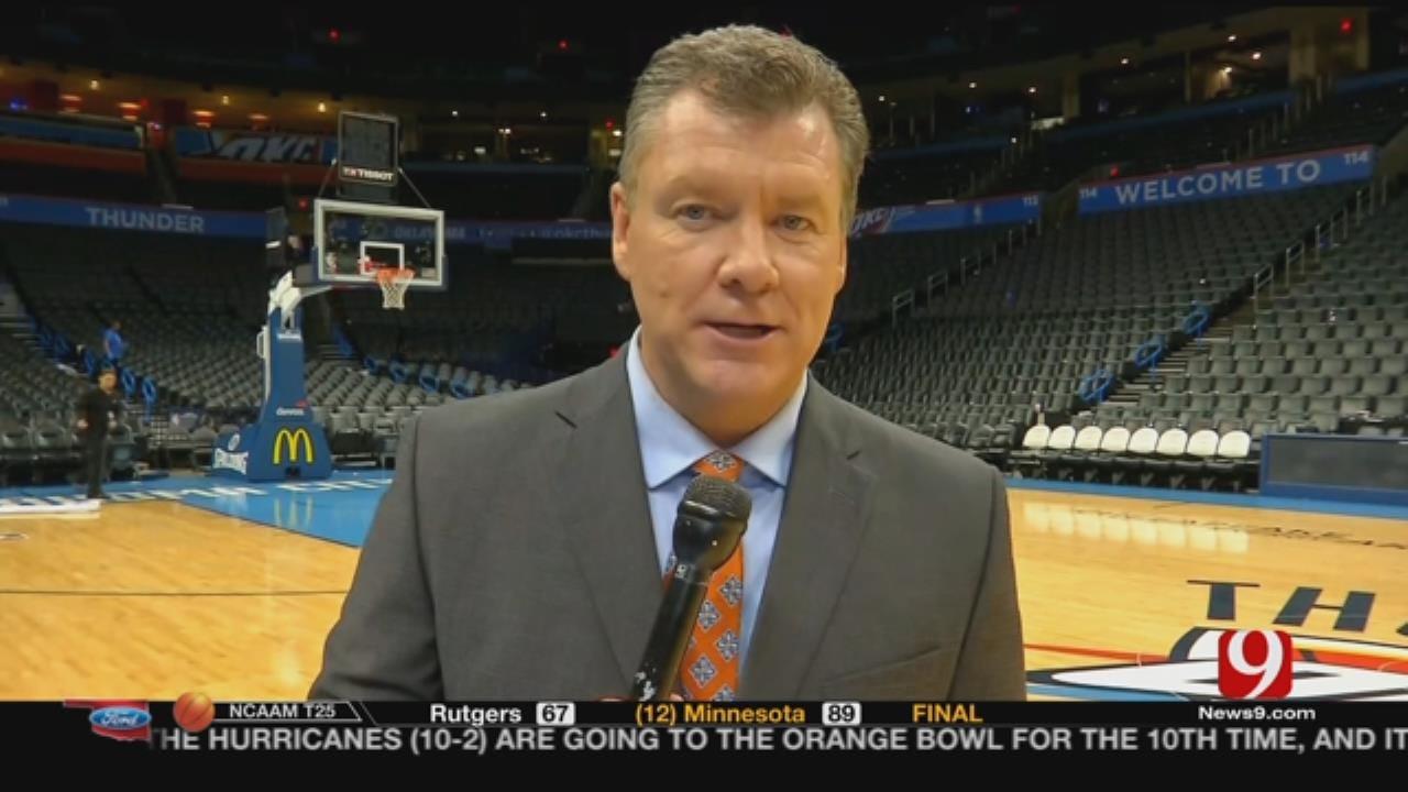 Thunder Holds Off Pesky Spurs