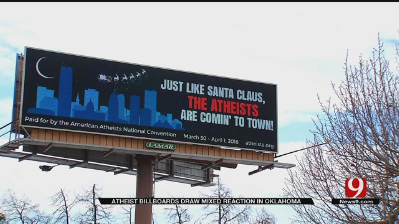 Controversial Billboards Crop Up In OKC Metro