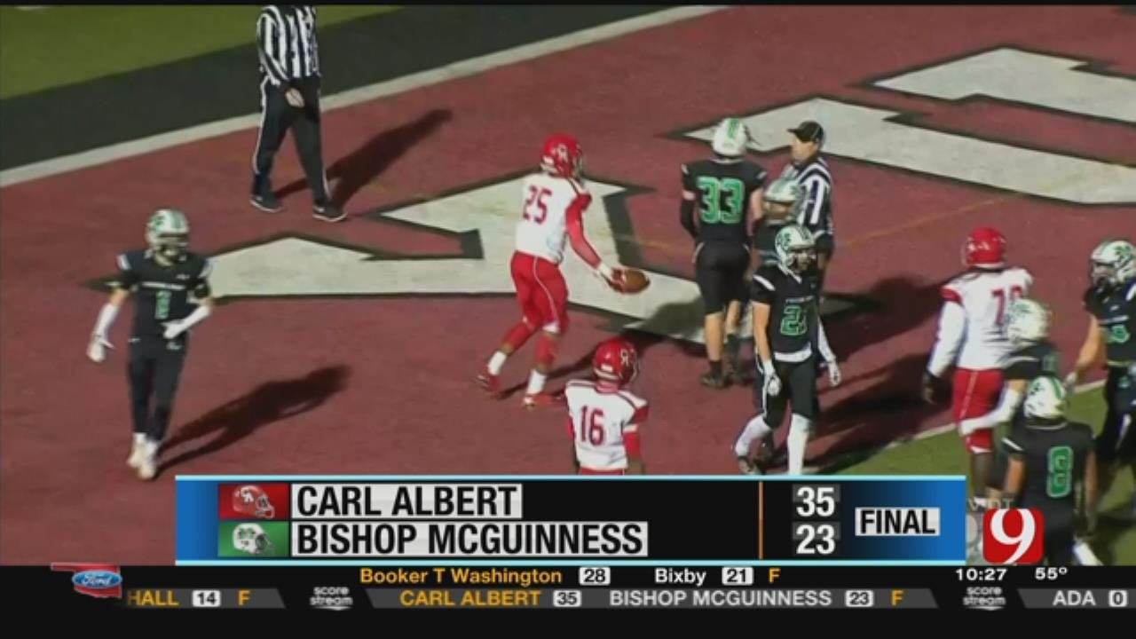 Bishop McGuinness 23 vs. Carl Albert 35