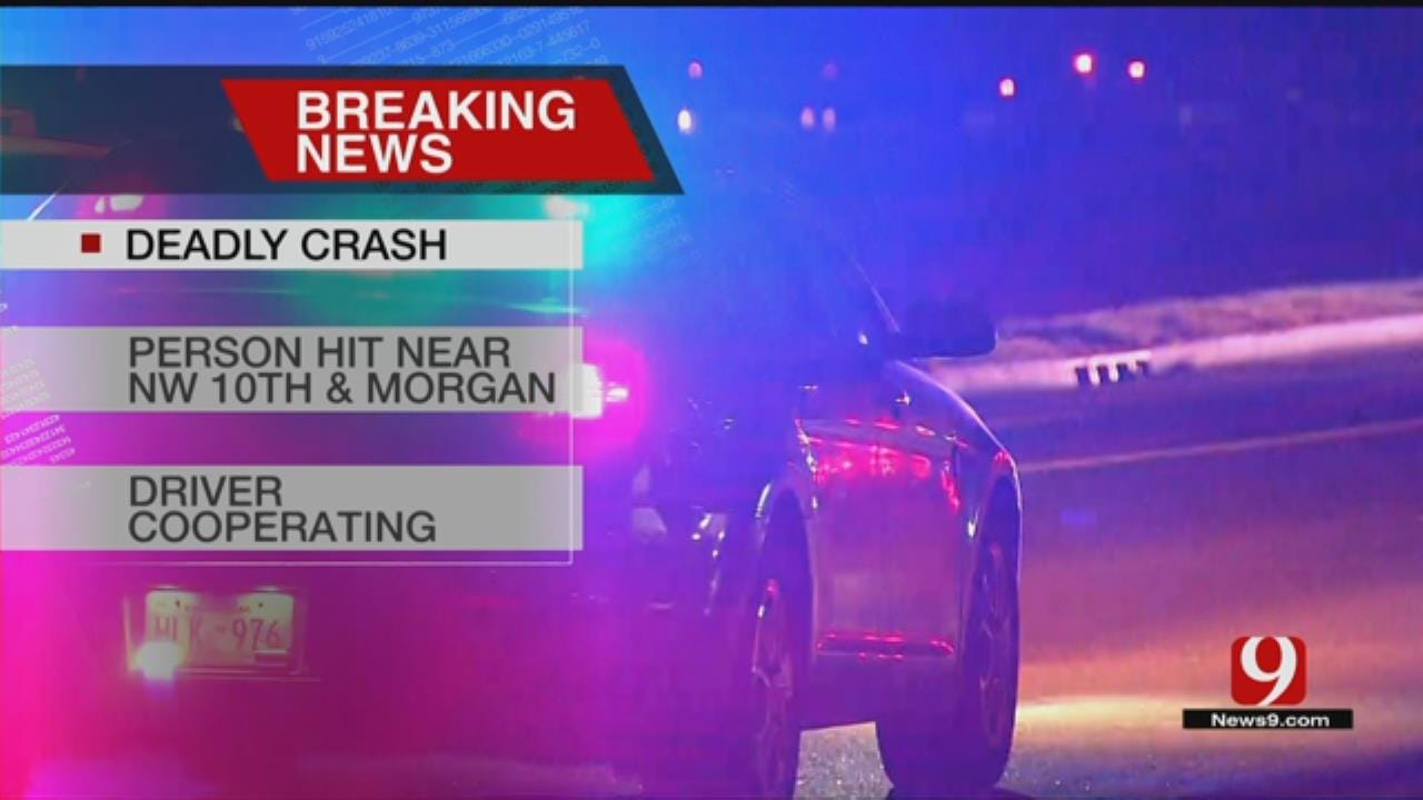 One Dead Following Auto-Pedestrian Crash In NW OKC