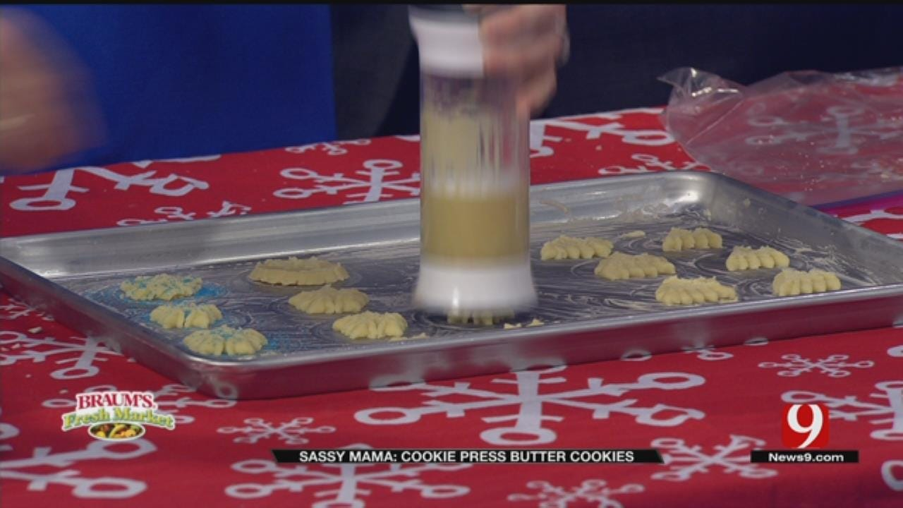 Cookie Press Butter Cookies