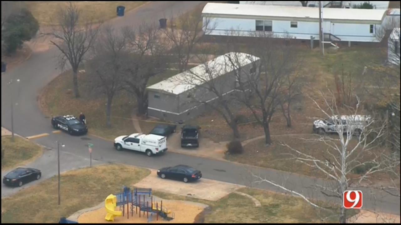 WEB EXTRA: SkyNews 9 Flies Over Homicide Investigation In SE OKC