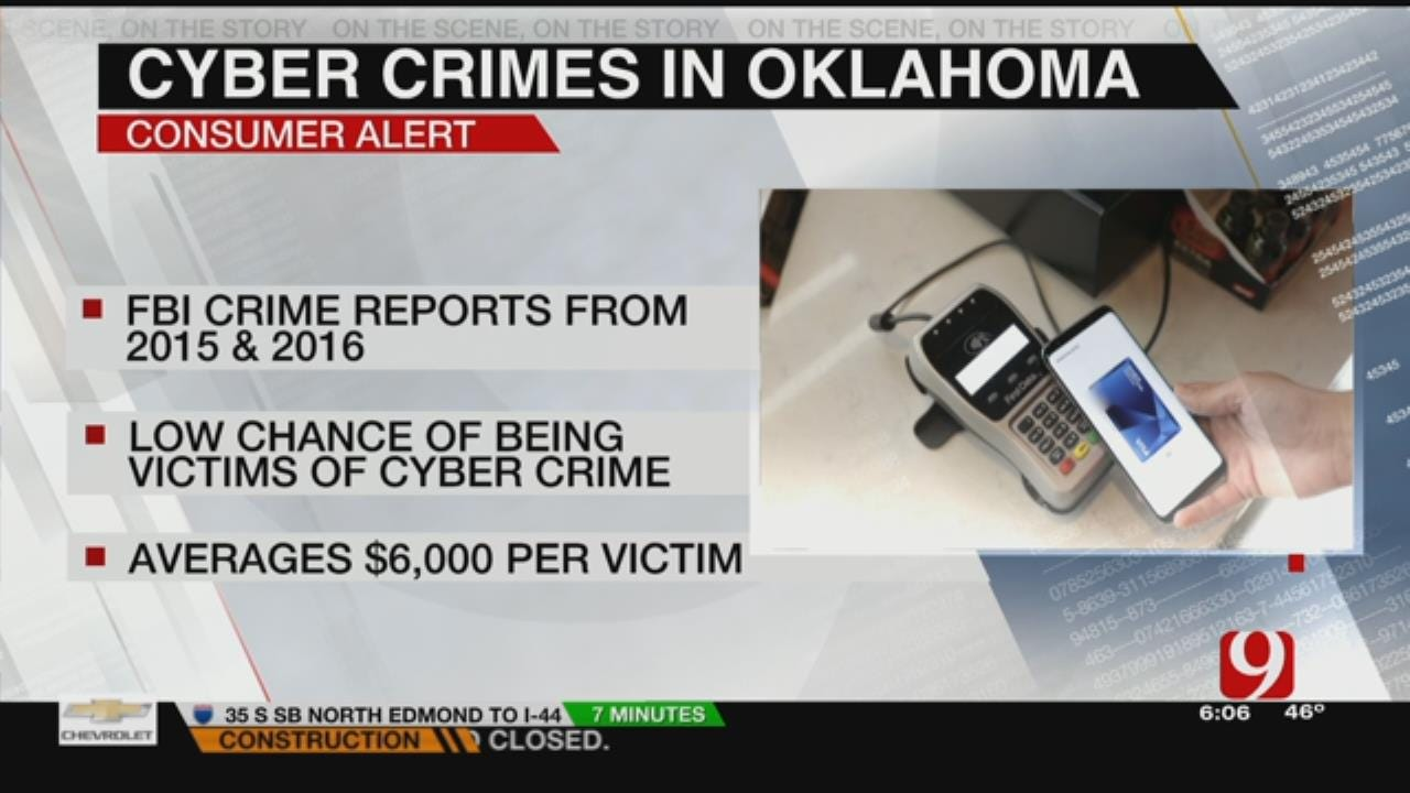 New Study Finds Oklahomans Less Likely To Be Victims Of Cyber Crime